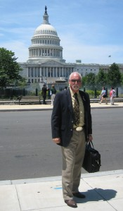 Equine author R.T. Fitch, your reporter, who will never wear that belt buckle into a Federal building, again.