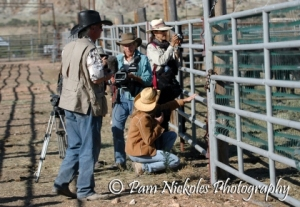 Wild horse advocates were allowed a monitored quick, daily tour around the pens to verify horses conditions