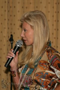 Madeleine Pickens at the 2011International Equine Conference ~ photo by Terry Fitch of Wild Horse Freedom Federation