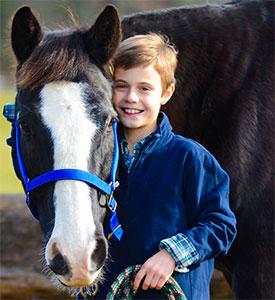 Declan Gregg ~ photo courtesy of Children 4 Horses