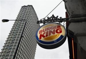 London Burger King