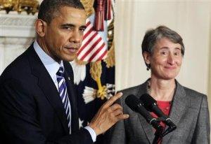 Obama and Jewell