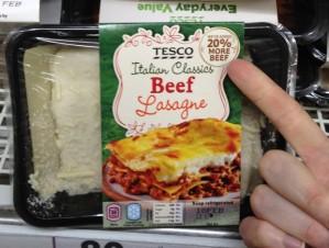 Tesco Beef?