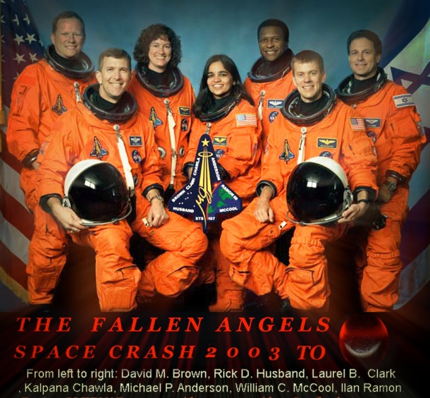 space shuttle columbia disaster crew - photo #12