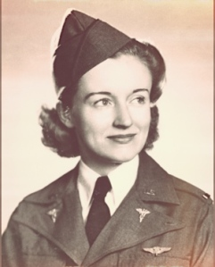 Second Lt. Ruth M. Gardiner died in an aircraft crash en route to evacuating patients in Alaska in July 1943, making her the first Army Air Forces flight nurse killed in a combat theater. She was one of 17 flight nurses who died during World War II and one of more than 500 military women who lost their lives. (U.S. Air Force photo)