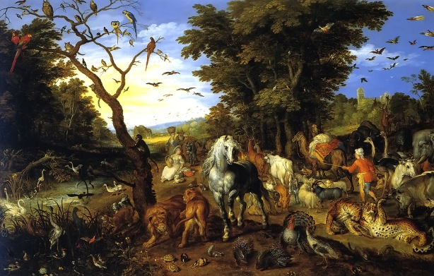 Entry of the Animals Into Noah's Ark
