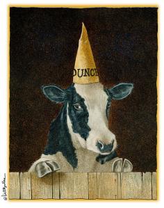 Dunce Welfare Cow