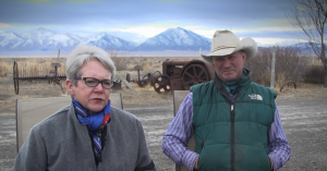 Eddyanne and Dan Filippini stating that our Public Land, which is home to wild animals such as horses, is THEIR land now they have violated the law and continue to ravage it with their destructive lack of proper management.