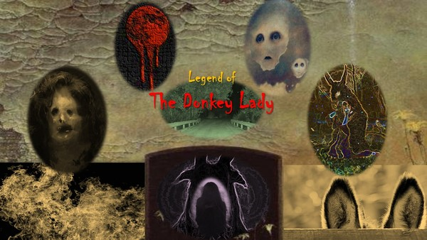 The legend of the Donkey Lady still haunts the wooded areas south of San Antonio, Texas. Graphic by Jack Dennis