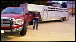 Terry' Fitch's Rig with 11 rescued wild burros from the BLM headed to TMR with Marjorie Farabee as Fleet of Angels, TMR and Wild Horse Freedom Federation work together to ensure the burros are not shipped to Guatemala